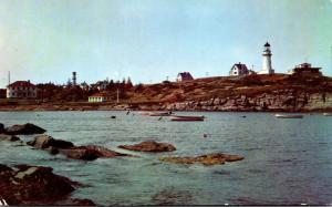 Maine Cape Elizabeth Two Lights Lighthouse