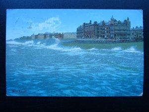 Lancashire BLACKPOOL Artist Impression c1904 Postcard by D.F. & Co.