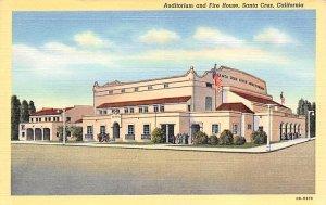 Auditorium and Fire House Santa Cruz CA