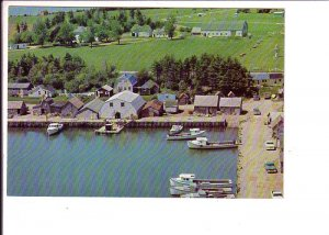 Wharf Malpeque Bay, Prince Edward Island, Canada Post Prepaid Matching Stamp