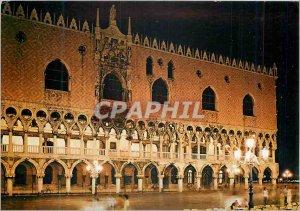 Modern Postcard Venezia Doge's Palace Night