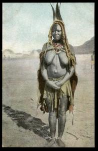 Germany ca1904 SW Africa DSWA Natives Card 88691