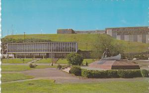 Colonel McCormick memorial & City Hall , BAIE COMEAU , Quebec , Canada , 50-60s