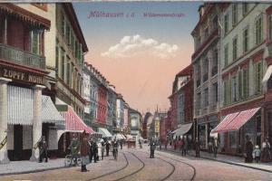 Mühlhausen (when Germany) , Bas-Rhin , Now France , 00-10s ; Wildemannstrasse