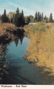 RED DEER, Alberta, Canada, 1940s-Present; Waskasoo Creek
