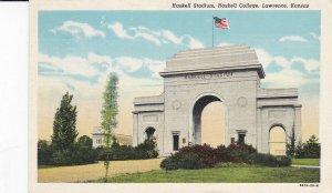 Lawrence , Kansas , 30-40s ; Haskell Stadium Entrance