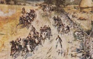 Battle of Gettysburg Painting - Cyclorama at Gettysburg PA, Pennsylvania