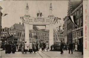 CPA Feesten te ZUTPHEN 27 Aug 1908 NETHERLANDS (604637)