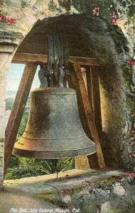 CA - San Gabriel Mission - The Bell