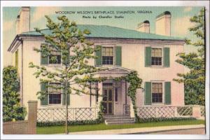 Woodrow Wilson's Birthplace, Staunton VA