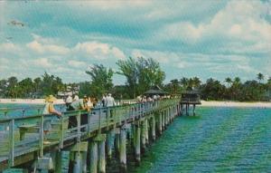 Florida Naples Fishing Pier 1973