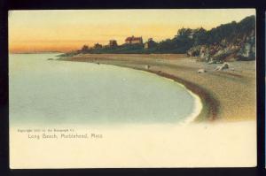 Marblehead, MA/Massachusetts/Mass Postcard, Long Beach, Shoreline