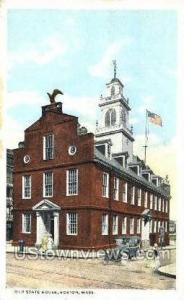 Old State House Boston MA Unused