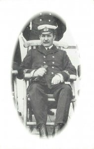 Postcard, First Officer William Murdoch, RMS Titanic, Officer of the Watch DP9