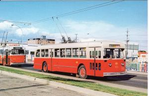US    PC1398  EDMONTON TRANSIT SYSTEM #113 TROLLEY BUS