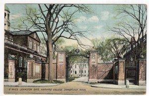 Cambridge, Mass, Johnston Gate, Harvard College