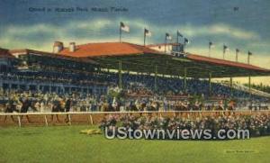 Hialeah park Miami FL 1939