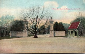 Ohio Dayton National Military Home Soldiers Home Gate