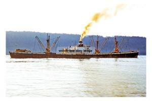 mc4247 - Liberian Cargo Ship - Agia Thalassini , built 1943 - photograph 6x4