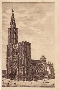 STRASBOURG, Cathedrale, Alsace, France, 10-20s