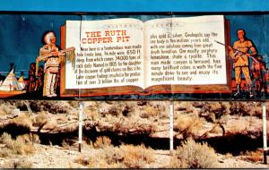 Nevada Ruth The Ruth Copper Pit Sign