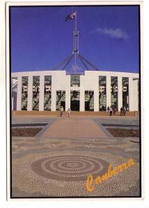 Forecourt Mosaic Pavement, Parliament House, Canberra, Australia Oversize