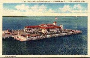 Florida St Petersburg Municipal Recreation Pier Curteich