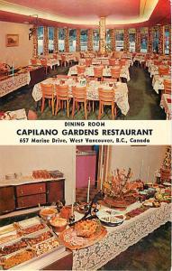 Dining Room Scenes Capilano Garden Restaurant West Vancouver BC