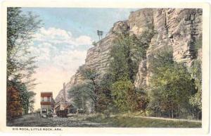 Big Rock, Little Rock Arkansas AR, White border