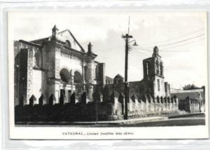 dominican republic, TRUJILLO, Cathedral (1950s) RPPC