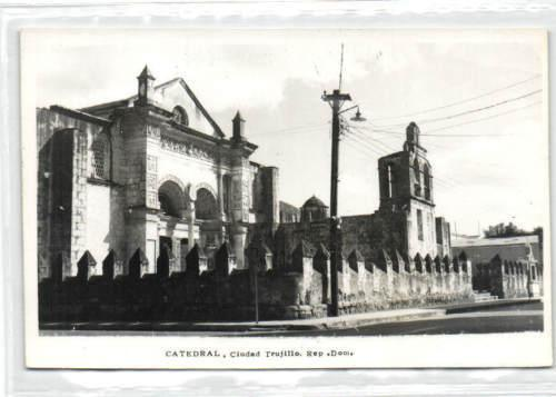 dominican republic, TRUJILLO, Cathedral (1950s) RPPC