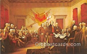Declaration of Independence, July 4, 1776 Painting by John Trumbull Patriotic...