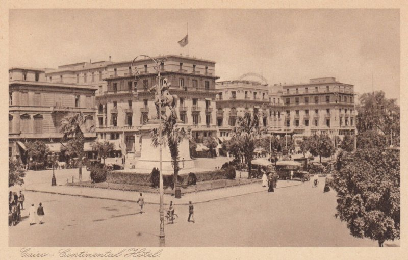 CAIRO , Egypt , 1910s ; Continential Hotel