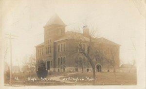 RP: HARTINGTON , Nebraska, 1908 ; High School