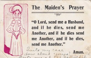 COMIC, PU-1907; The Maiden's Prayer, Send a husband and if he dies send another