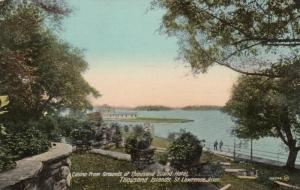 1000 ISLANDS, 1900-10s; Casino from Grounds of Thousand Island Hotel