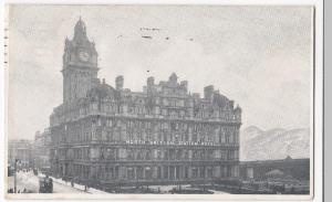 Edinburgh; North British Station Hotel Advertising PPC 1911 To Bellis, Southport
