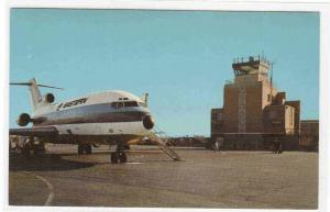 Eastern Airlines 727 Plane Weir Cook Airport Indianapolis Indiana postcard
