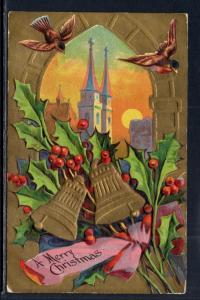 A Merry Christmas Bells Scene