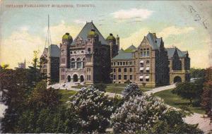 Ontario Parliament Building, Toronto, Ontario, Canada, 1900-1910s