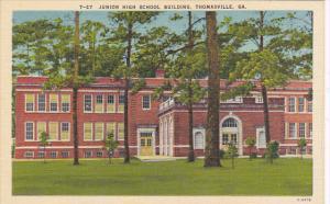 Junior High School Thomasville Georgia