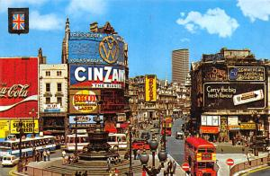 Piccadilly Circus and Statue of Eros - London