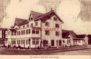 WM. PENN HOTEL on U.S. Route 202 GWYNEDD, PA. Just a Real Place to Dine