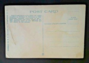 Mint Vintage Washington DC Corcoran Art Gallery 1920s Postcard