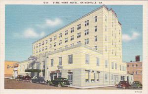 Georgia Gainesville Dixie Hunt Hotel
