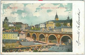 66358 - Polen POLAND - Ansichtskarten  VINTAGE POSTCARD -  WARSAW  Warszawa