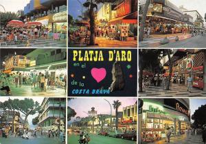 Spain Platja d'Aro Costa Brava multiviews Market Place Street Views