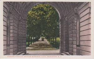 Looking Through Brokaw Memorial Arch, Princeton University, Princeton, New Je...