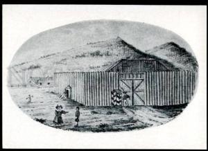 136777 Wifes Decembrist near CHITA jail Prison Old Soviet PC
