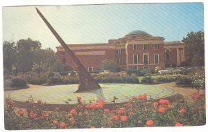 Sun Dial And Morehead Planetarium University, Chap Hill, North Carolina, 40-60s